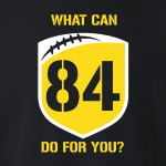 What Can Brown 84 Do for You - Antonio Brown, Hoodie, Long-Sleeved, T-Shirt, Crew Sweatshirt, Women's Cut T-Shirt