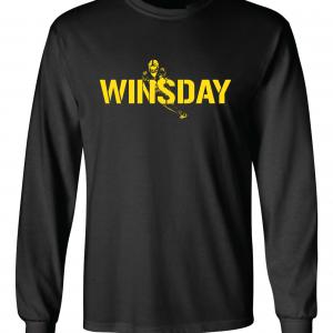 WInsday - Le'Veon Bell, Black, Long-Sleeved