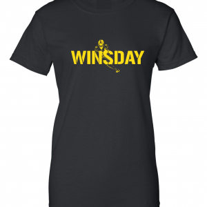 WInsday - Le'Veon Bell, Black, Women's Cut T-Shirt