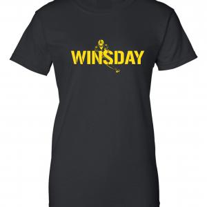 WInsday - Le'Veon Bell, Black, Women's Cut T-Shirt