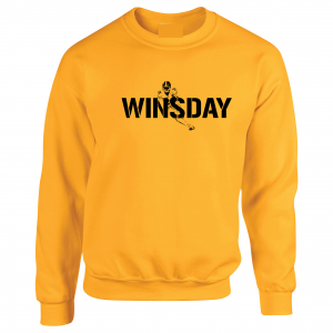 WInsday - Le'Veon Bell, Gold, Crew Sweatshirt