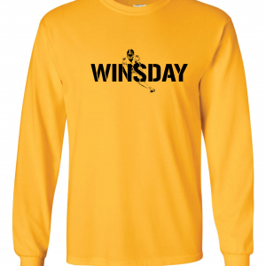 WInsday - Le'Veon Bell, Gold, Long-Sleeved
