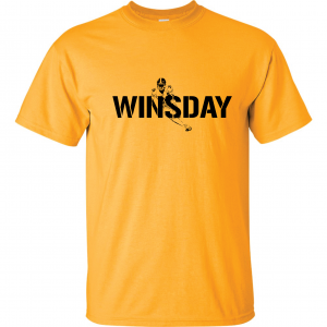 WInsday - Le'Veon Bell, Gold, T-Shirt