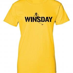 WInsday - Le'Veon Bell, Gold, Women's Cut T-Shirt