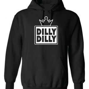 Dilly Dilly Crown, Black, Hoodie