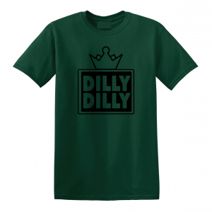Dilly Dilly Crown, Forrest/Black, T-Shirt