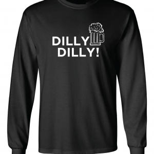 Dilly Dilly Beer, Black, Long-Sleeved