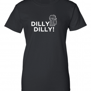 Dilly Dilly Beer, Black, Women's Cut T-Shirt