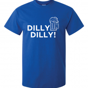 Dilly Dilly Beer, Royal Blue/White, T-Shirt