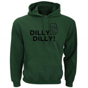 Dilly Dilly Beer, Forest/Black, Hoodie
