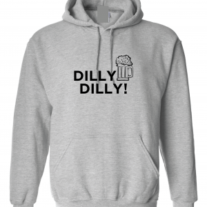 Dilly Dilly Beer, Royal Grey/Black, Hoodie
