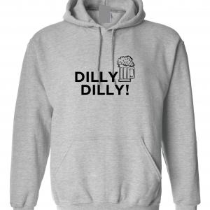 Dilly Dilly Beer, Royal Grey/Black, Hoodie