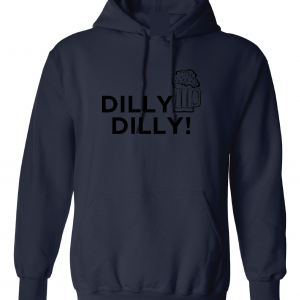 Dilly Dilly Beer, Navy/Black, Hoodie