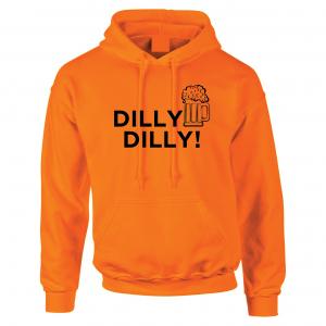 Dilly Dilly Beer, Orange/Black, Hoodie