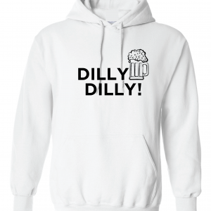 Dilly Dilly Beer, White, Hoodie