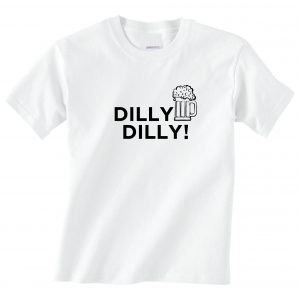 Dilly Dilly Beer, White, T-Shirt