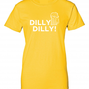 Dilly Dilly Beer, Yellow/White, Women's Cut T-Shirt