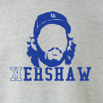 Kershaw - Los Angeles Dodgers, Hoodie, Long-Sleeved, T-Shirt, Crew Sweatshirt, Women's Cut T-Shirt