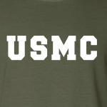 USMC - Marine Corps, Hoodie, Long-Sleeved, T-Shirt, Crew Sweatshirt, Women's Cut T-Shirt