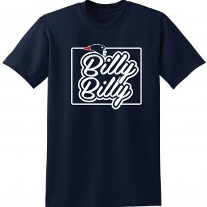 Billy Billy - New England Patriots, Navy, T-Shirt