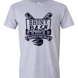 Bronx Bash Brothers - Yankees, Grey, T-Shirt