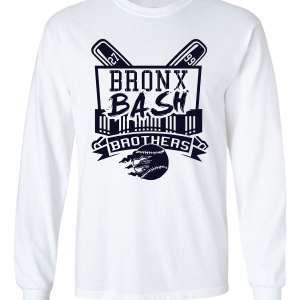Bronx Bash Brothers - Yankees, White, Long-Sleeved