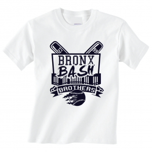 Bronx Bash Brothers - Yankees, White, T-Shirt