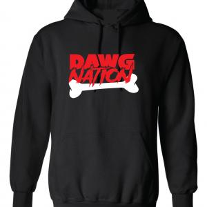Dawg Nation - Georgia Bulldogs, Black, Hoodie