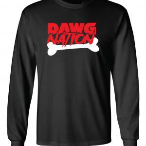 Dawg Nation - Georgia Bulldogs, Black, Long-Sleeved