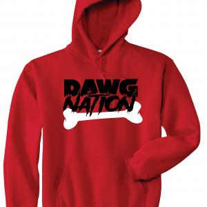 Dawg Nation - Georgia Bulldogs, Red, Hoodie