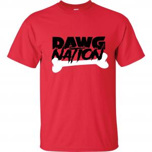 Dawg Nation - Georgia Bulldogs, Red, T-Shirt