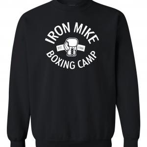 Iron Mike Boxing Camp, Black, Sweatshirt
