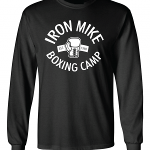 Iron Mike Boxing Camp, Black, Long-Sleeved