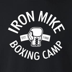 Iron Mike Boxing Camp, Hoodie, Long-Sleeved, T-Shirt, Crew Sweatshirt, Women's Cut T-Shirt
