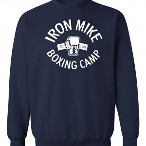 Iron Mike Boxing Camp, Navy, Sweatshirt