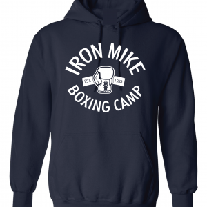 Iron Mike Boxing Camp, Navy, Hoodie