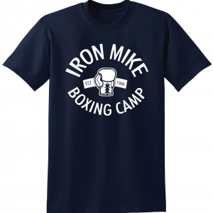 Iron Mike Boxing Camp, Navy, T-Shirt
