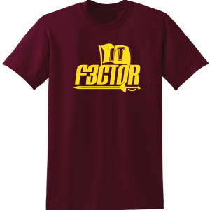 IT F3ctor - Isaiah Thomas - Cleveland, Maroon, T-Shirt