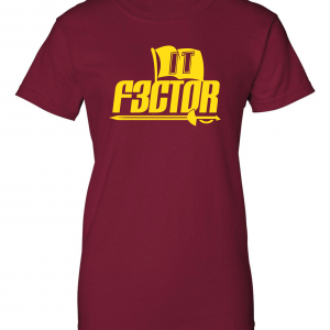 IT F3ctor - Isaiah Thomas - Cleveland, Maroon, Women's Cut T-Shirt