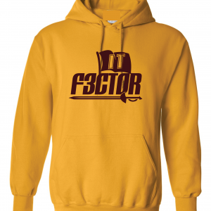 IT F3ctor - Isaiah Thomas - Cleveland, Gold, Hoodie