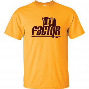 IT F3ctor - Isaiah Thomas - Cleveland, Gold, T-Shirt