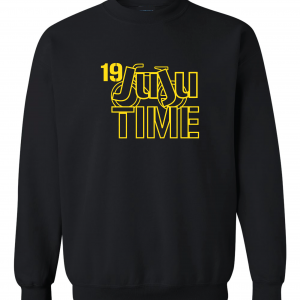 Juju Time - Smith-Schuster - Pittsburgh, Black, Crew Sweatshirt
