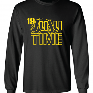 Juju Time - Smith-Schuster - Pittsburgh, Black, Long-Sleeved