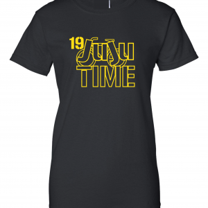 Juju Time - Smith-Schuster - Pittsburgh, Black, Women's Cut T-Shirt