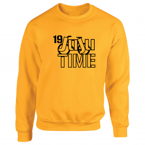 Juju Time - Smith-Schuster - Pittsburgh, Gold, Crew Sweatshirt