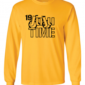 Juju Time - Smith-Schuster - Pittsburgh, Gold, Long-Sleeved