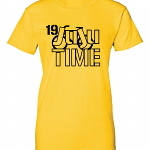 Juju Time - Smith-Schuster - Pittsburgh, Gold, Women's Cut T-Shirt