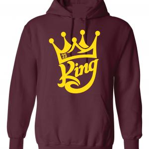 King James 23, Maroon, Hoodie