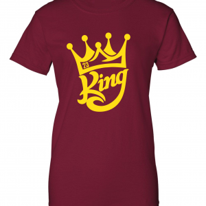 King James 23, Maroon, Women's Cut T-Shirt