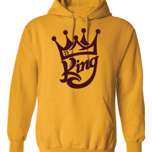 King James 23, Gold, Hoodie